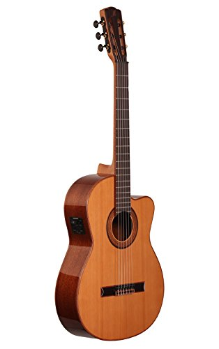 Merida T25-CES Trajan Classical Acoustic-Electric Guitar