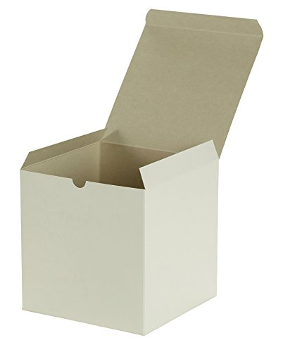 Premier Retail Packaging 10 Count White Gloss Gift Box, 7 x 7 x 7