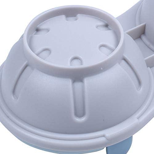 Dasing Mikrowellen-Eier-Pochierer, Kochgeschirr, Doppeltasse, Doppelhöhle, hohe Kapazität, Design Eierkocher, Eierkocher, Tassen, Mikrowellen-Dampfgarer, Küchenhelfer