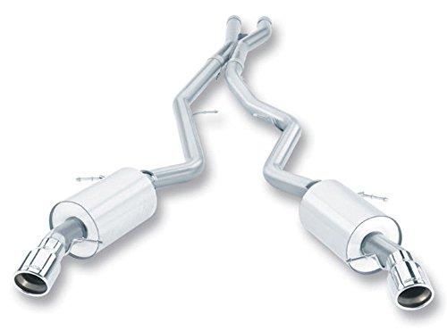 Borla 140276 Cat-Back Exhaust System - 335i/iX COUPE/SEDAN (Borla Bmw Rear Exhaust System)