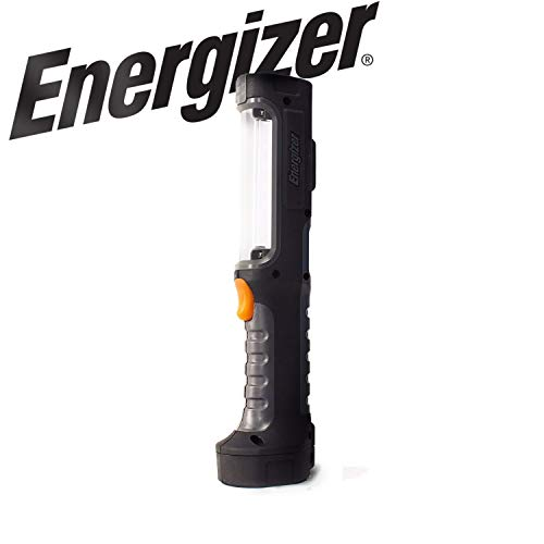 - Energizer LED AA Work Light, Hard Case Professional Light, 8 Hour Run Time, 550 Lumens (Batteries Included)