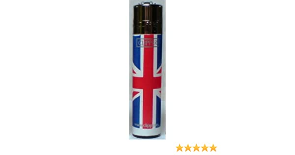 Clipper Flint Mechero en de bandera de Reino Unido/bandera de diseño Print – 1 mechero por Trendz: Amazon.es: Jardín