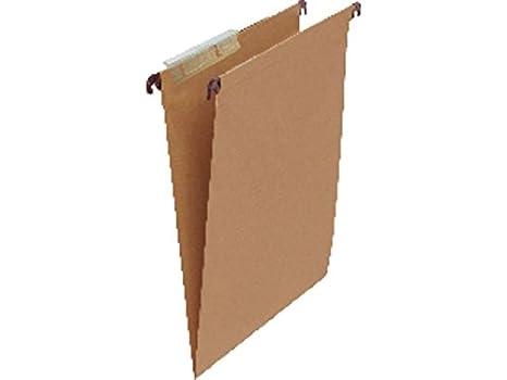 5 Star 400021840 - Caja de 50 carpetas colgantes, visor superior: Amazon.es: Oficina y papelería