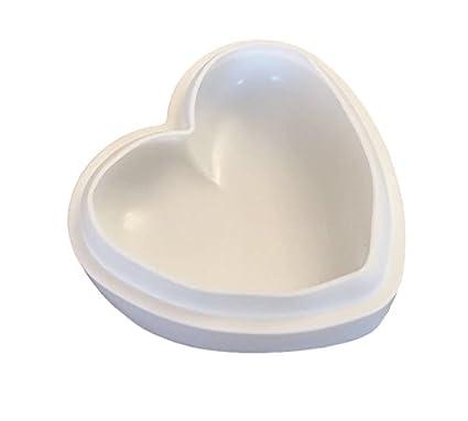 3d Corazón Forma de silicona para hornear molde chocolate Forma cubitos de hielo forma Praline Forma
