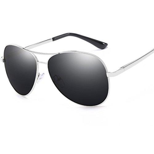 Aire Actividades Hombres Metal Libre Gafas Turismo Protección para y de 2 Aplicar polarizadas de a Marco Playa Sol Conducir al como 2 UV400 77qIwF6z