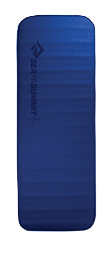 Sea to Summit Comfort Deluxe Si Mat - Regular Wide - Self-Inflating Camping & Backpacking Sleeping Mat, Blue ()