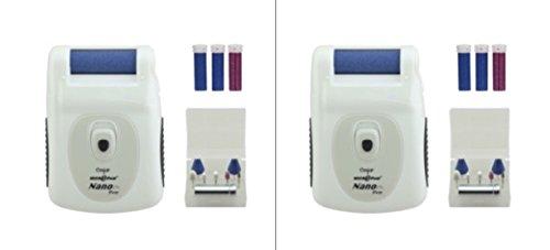 Set of 2 - Emjoi Micro-Pedi Nano Pro Callus Remover w/ Manicure Kit & Extra Rollers