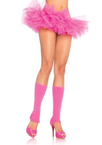 Leg Avenue Women's Organza Tutu, Neon Pink, One Size