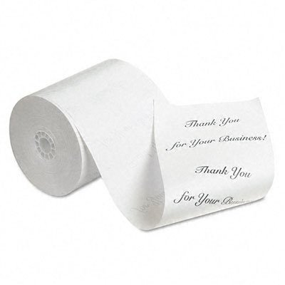 NCR 9090-3216 Thermal Receipt Paper, 80mm x 230', White