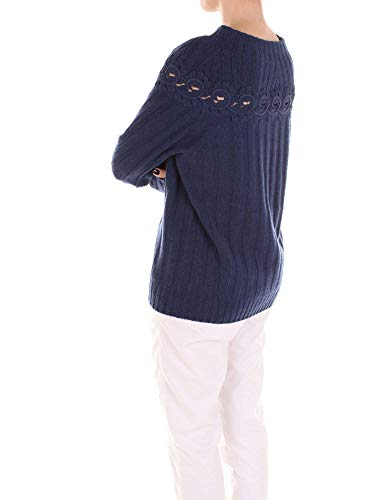 Donna exterior 47244blue Blu Maglione D Cashmere dwUYq66E