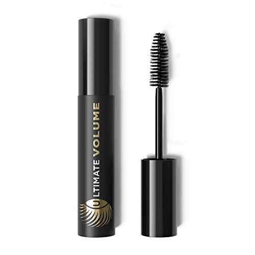 Marcelle Ultimate Volume Mascara, Black, Hypoallergenic and Fragrance-Free, 0.33 fl oz (Ultimate Mascara Volume)