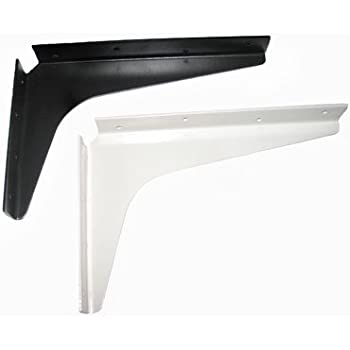 Cantilever support brackets 24 black home for Cantilever counter support