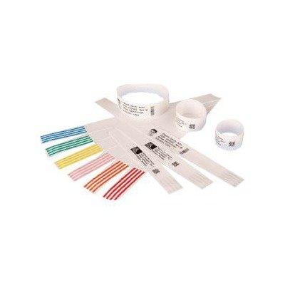 2T09747 - Zebra Wristband Polypropylene 1 x 11in Direct Thermal Zebra Z-Band Direct HC100 by Zebra Technologies