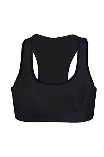 Reggiseno donna senza maniche elastico Sport