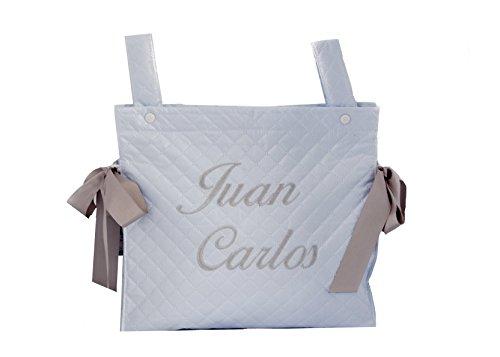 Talega plastificada carrito bebe personalizado danielstore ( nombre Juan Carlos )
