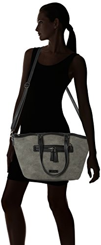 Bulaggi Pellon Shopper - Bolsos totes Mujer Gris (Grau)