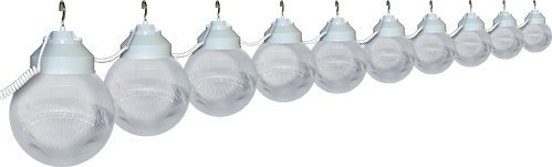Polymer Products  Clear 10 Globe String Light