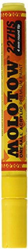MOLOTOW One4all Acrylic Paint Markers 4 mm, Zinc Yellow 006 (227.201)