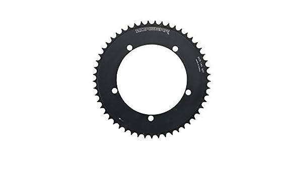 New Zoagear Single Speed Chainring 144 BCD 46 Teeth Fixed Gear Bike Black