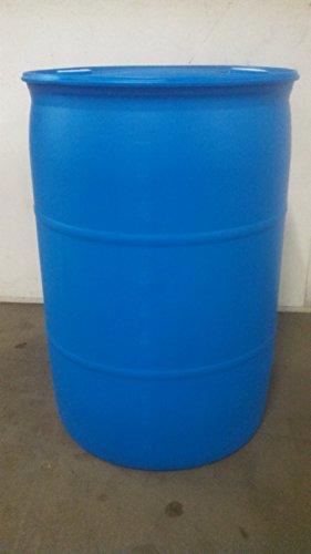 Gurman, 30 Gallon RECONDITIONED Plastic Closed Top Drum - Blue