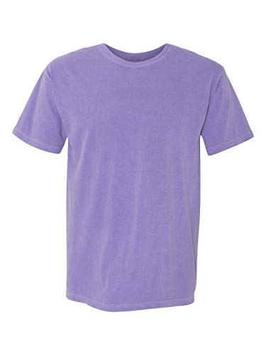 Short Sleeve Colour - Comfort Colors Pigment-Dyed Short Sleeve Shirt Medium Violet