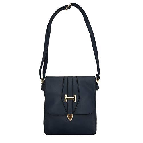 Metal Cross Colours Fashion Handbags Sally vk5337 Bar Young 7 Body Navy Women FfwFnXqH