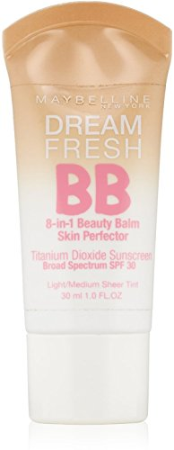 Maybelline Makeup Dream Fresh BB Cream, Light/Medium Skinton