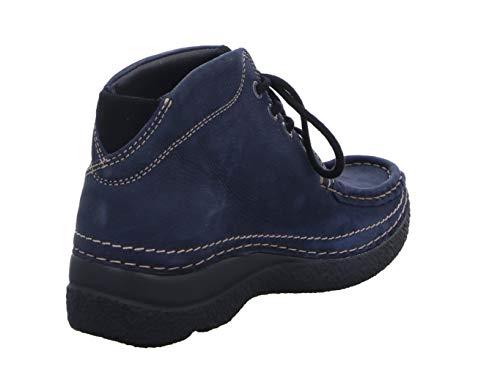 Wolky 6242 Blau Shoot Nubuk Geöltes Boots 11802 nbsp;roll r6PqvBwrxH