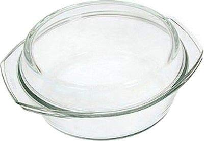 Simax Clear Round Glass Casserole | With Lid, Heat, Cold and Shock Proof, Made in Europe, 3.5 Quart by SIMAX (Image #2)