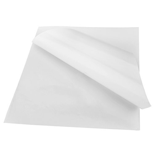 Full Sheets Blank Shipping Labels For Laser/Inkjet Printer, 8.5 x 11 Inch,100 Sheets Total - Poly Paper Labels