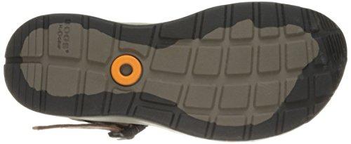 Myrar Mens Rio Läder Athletic Sandal Mörkbrunt Läder