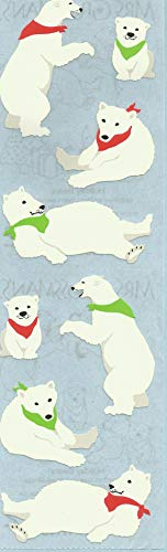 Mrs. Grossman's Holiday Bears Stickers ()