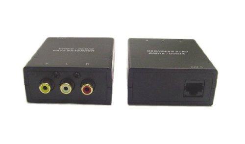 - Calrad 95-1140 Composite Video and Audio Over CAT5 Extender
