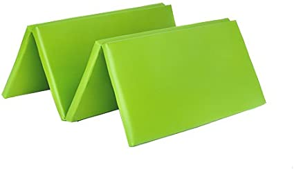 Shopisfy Folding Faux Leather Multi-Use Play Gymnastics Training Crash Safety Mat