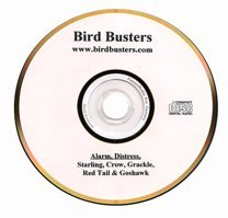 BirdBusters Distress & Predator calls CD - Starling Crows Grackle Red Tail Goshawk- Scare Away starlings crows and grackles