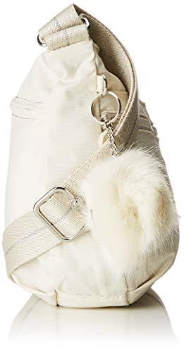 Izellah Para Kipling Blanco Cm Mujer Bandolera Bolso 33x23x12 dazz White dFFwxqOPtn