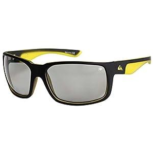 Quiksilver Chaser Sunglasses - Matte Black / Yellow / Photochromic
