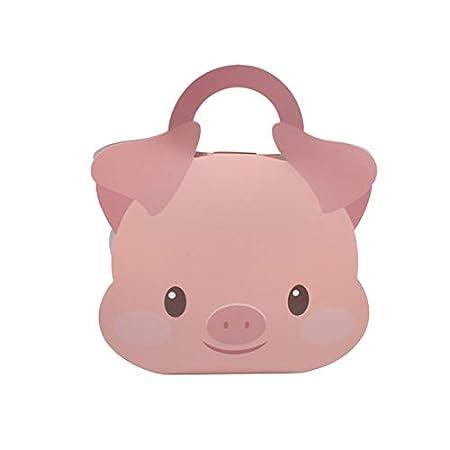 Aohua - Caja de Regalo con Forma de Cerdo en Polvo para Gatos ...