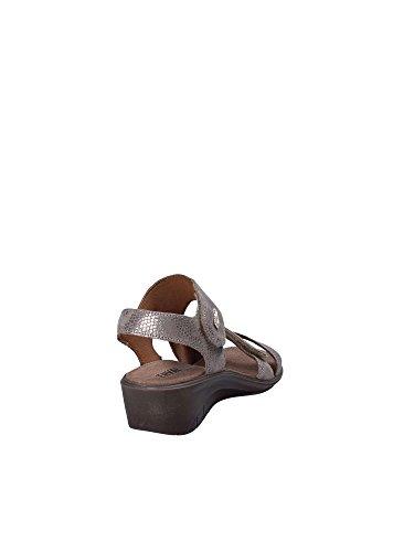 Donna Marrone Velcro 1277433 Sandalo Enval IPtZw