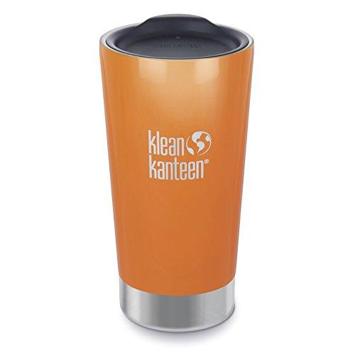 Klean Kanteen Canyon Orange Vacuum Insulated Tumbler, ()