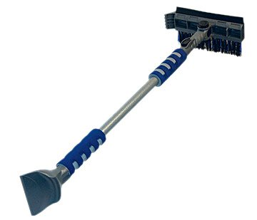 Subzero 16619 51'' Ice Crusher Pivoting Dual Head Snow Broom and Squeegee with Integrated Ice Scraper by Subzero