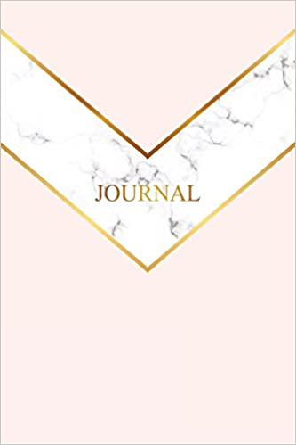 amazon journal marble gold journal 120 page blank page notebook