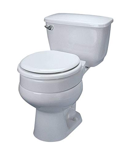 Maddak 34723500 Toilet Seat Tall-ette Standard, 3 Inch, Hinged Elevated 725711000 Box Of 1