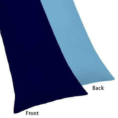 light blue body pillow case - 1