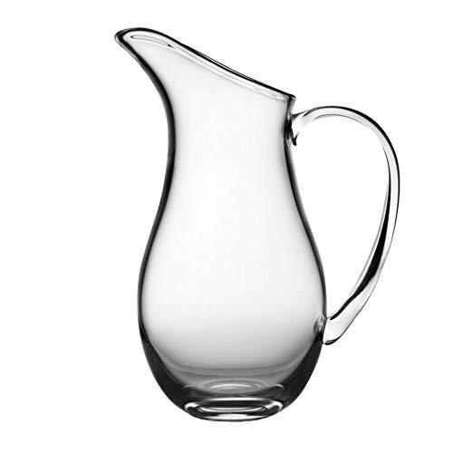 Nambe Moderne Glass Pitcher, - Nambe Vase Crystal