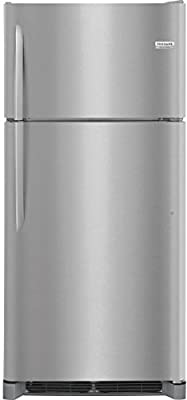 Frigidaire FGTR1842TF Freestanding Top Freezer Refrigerator with 18 cu. ft Total Capacity, in Stainless Steel