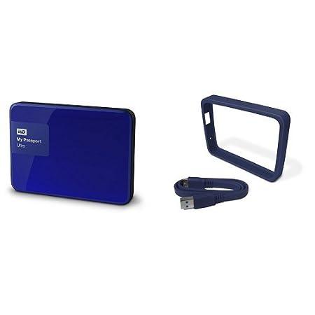 WD My Passport Ultra - Disco Duro Externo portá til de 2 TB (2.5', USB 3.0), Color Negro Western Digital WD My Passport Ultra - Disco Duro Externo portátil de 2 TB (2.5 WDBBKD0020BBK-EESN