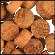 WIDGETCO 5/8'' Oak Floor Plugs