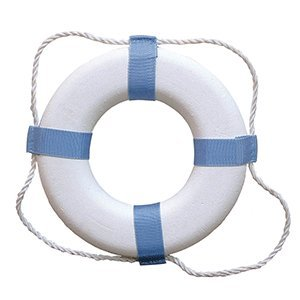 Taylor Made Products 373 Decorative Ring Buoy, 24-Inch, White