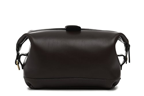 korchmar-lux-ryder-top-zip-toiletry-kit-l1217-coffee